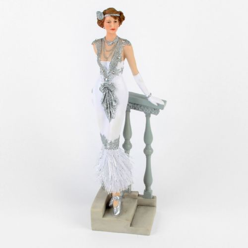 Juliana Gatsby Girls - Art Deco 1920s Flapper Girl Standing on steps - Marjorie 58233